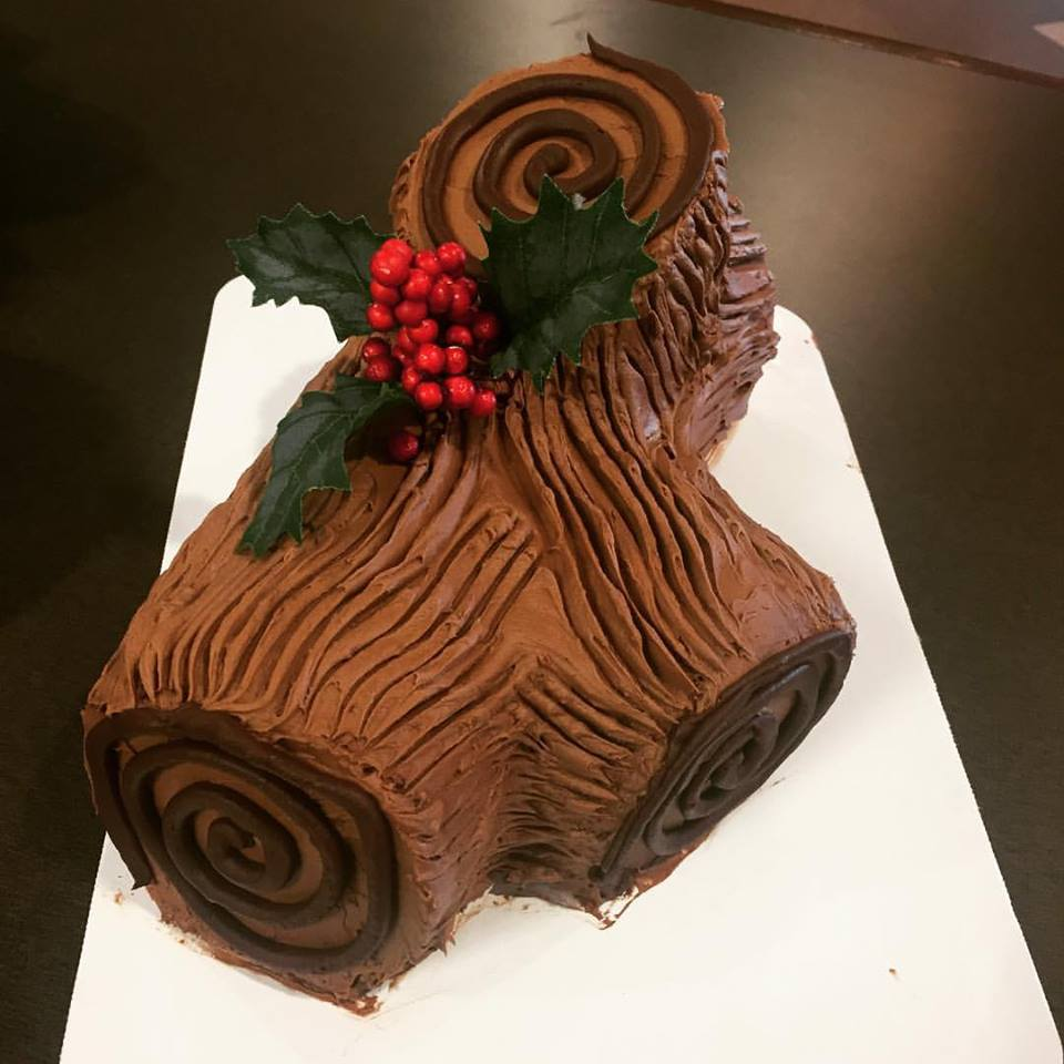 Daddy Cake Yule Log